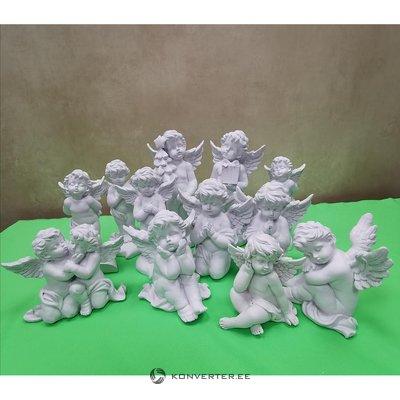 White Christmas Decoration - Christmas Angel (Large)