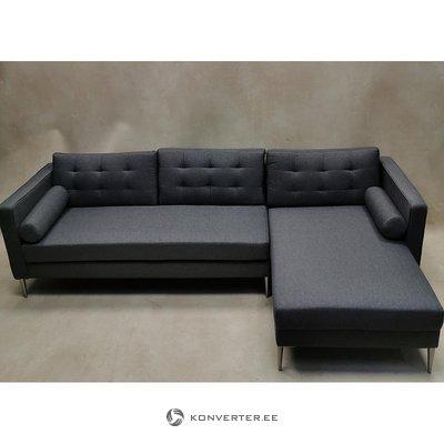 Pilka kampinė sofa (kodas)