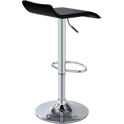 Black bar stool (duhome) (whole, hall sample)