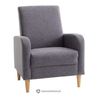 Gray armchair (gedwed) (whole, hall sample)