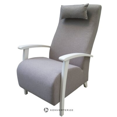 Gray armchair (polo) (with beauty defects., Hall sample)