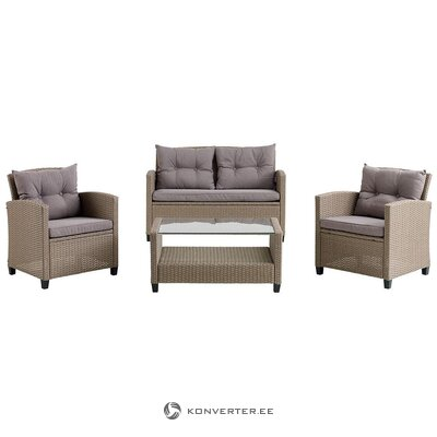 Garden furniture set (mora) (whole, hall sample)