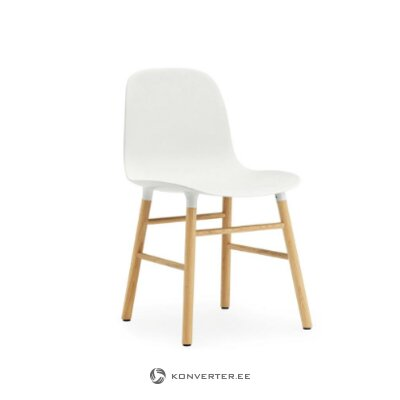 White-brown chair (copenhagen) (healthy, sample)