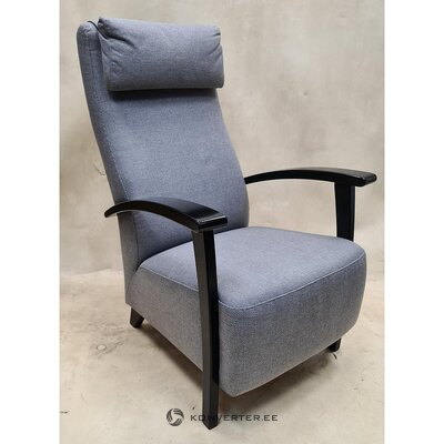 Gray-black armchair (polo)