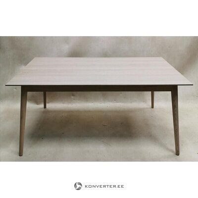 Light solid wood dining table (hall sample, whole)