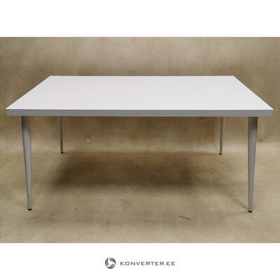 White high gloss dining table (whole, in box)