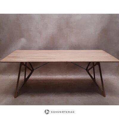 """Natūralaus medžio valgomojo stalas (""""gazzda"""")"""