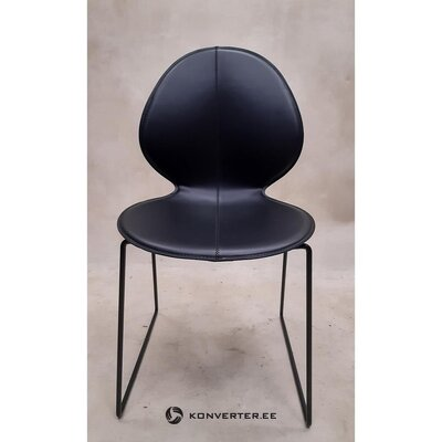 Black design chair (calligaris)