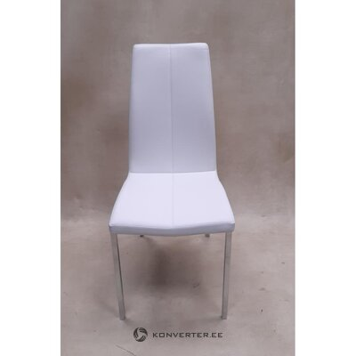 White soft chair