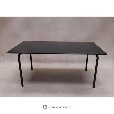 Black glass coffee table (boconcept)