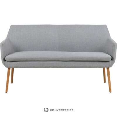 Серый диван (actona) (образец холла, целиком)