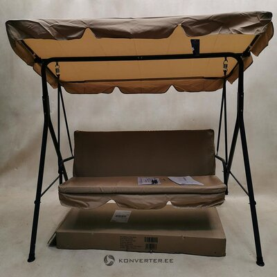 Garden swing with canopy (code) (in box, whole)