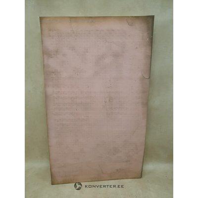 Matracis bez vāka (200x120cm) (netīrs un salauzts)