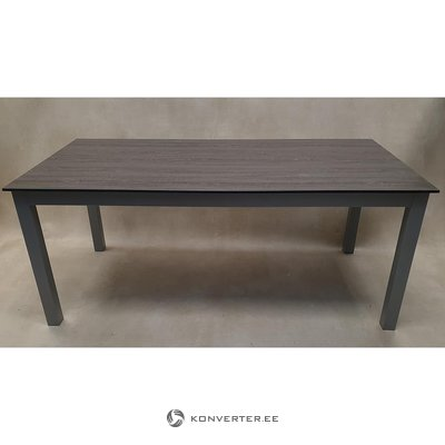 Brown-gray garden table (code)