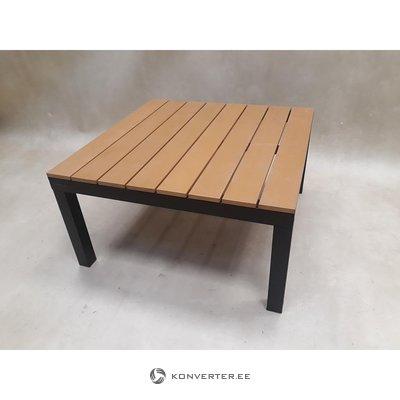Коричневый садовый стол