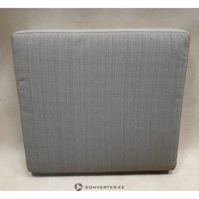 Бежевая подушка для садовой мебели (код) (70x65x10см)