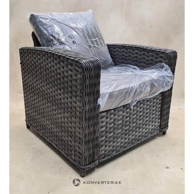 Pelēks dārza krēsls (kods)