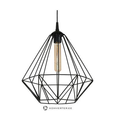 Must Rippvalgusti Basket (Luminex) (Terve, Karbis)