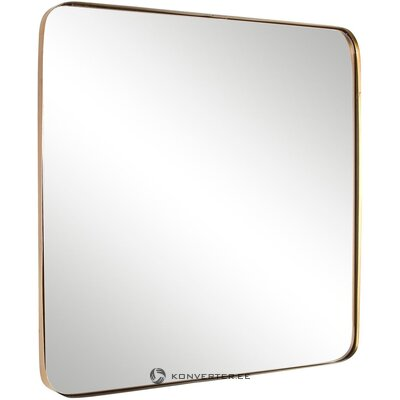 Gold framed wall mirror (bizzotto)