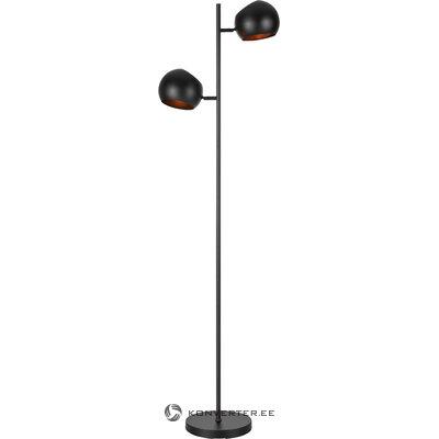 Melna grīdas lampa Edgar (Markslöjd)