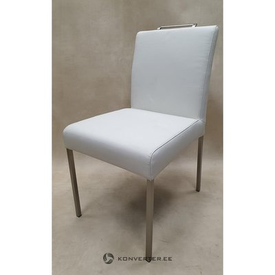 White leather chair (fl collection)