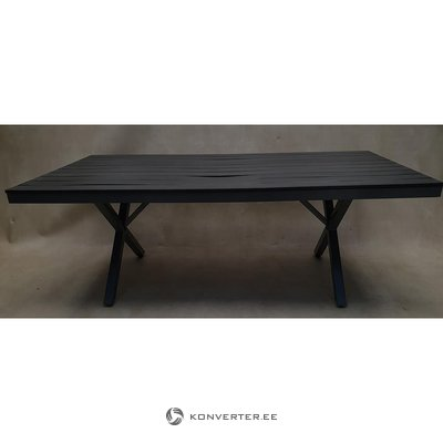 Black Garden Table (with Beauty Errors)