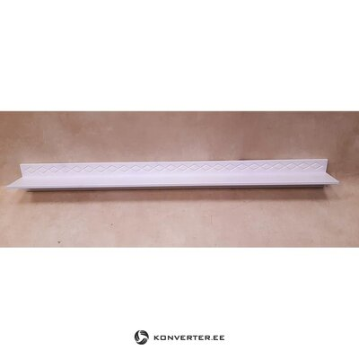 White wall shelf (hall sample)
