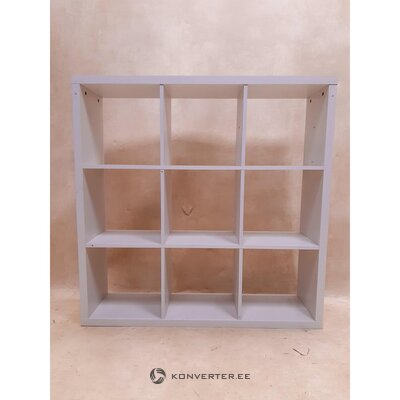 White cube shelf (kiwi) (with defects., Hall sample)
