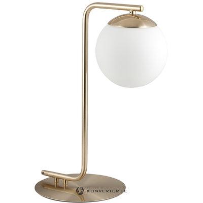 Golden-white table lamp grant (nordlux)