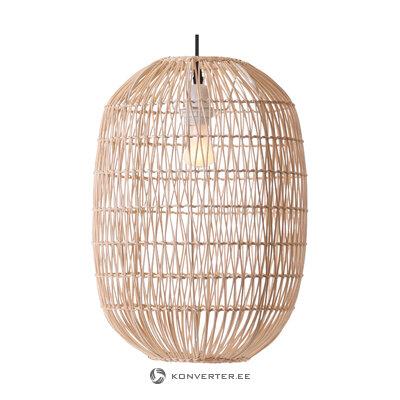 Подвесной светильник melody из ротанга (nova luce) (коробка, целиком)