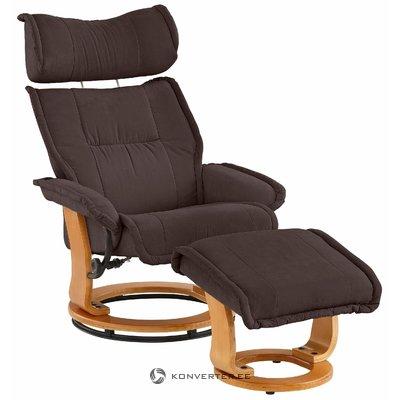 Ruskea nojatuoli