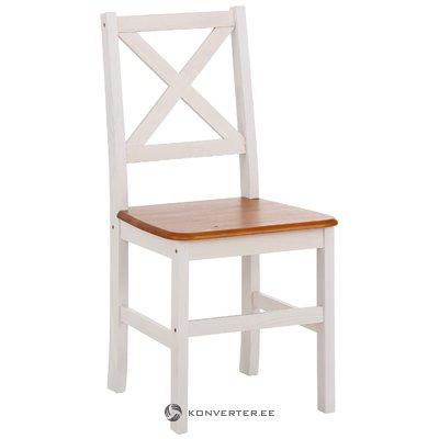 Skandinaavinen tyyli massiivipuuta tuoli