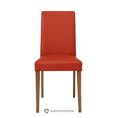 Tumeroosa nahkkattega tool
