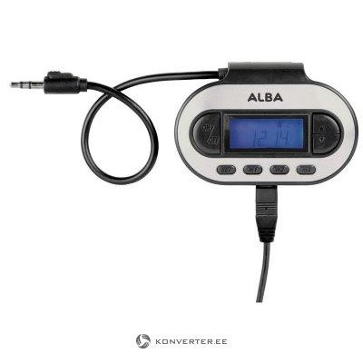 Передатчик Alba FM в автомобиле