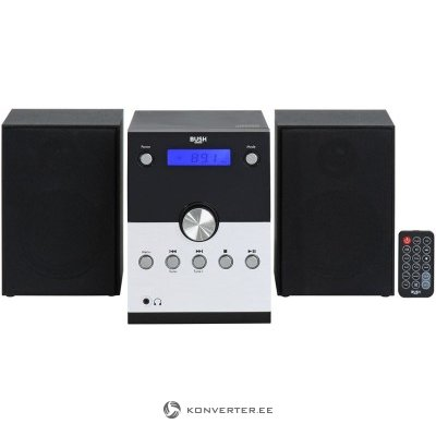 Music Center with Bluetooth BUSH Micro System BD-618 AM / FM (1 speaker input does not work)