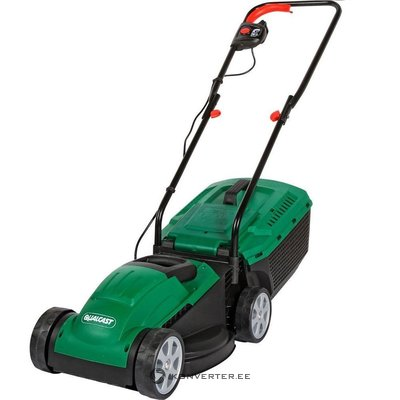 Electrical lawn mower Qualcast M2E1232M without a cartridge