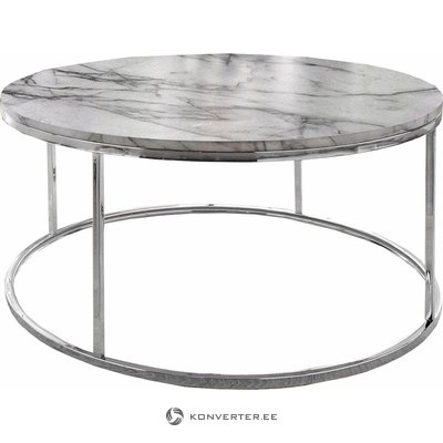 Marble-imitation sofa table