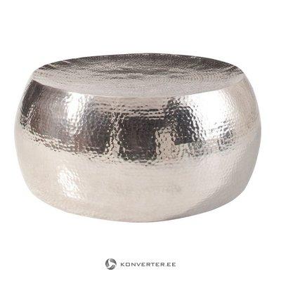 Apvalus aliuminio sofos stalas