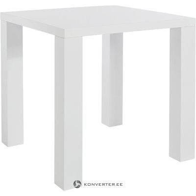 High White White Dining Table