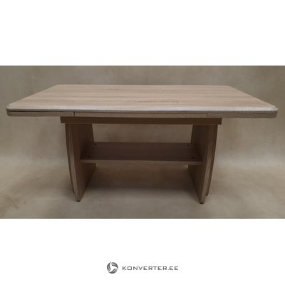 Laajennettava ja säädettävä sohvapöytä (ruskea, sali-näyttö, buginen)