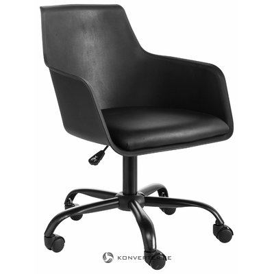 Black office chair Lonny