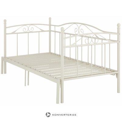 Bēša izvelkama gulta (90-180 cm x 206 cm)