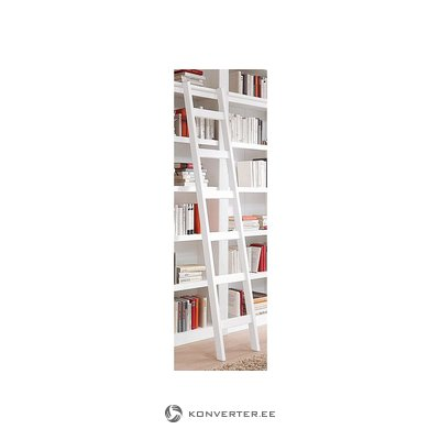 White Solid Wood Ladder