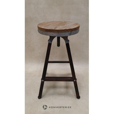 Ruskea design-tuoli