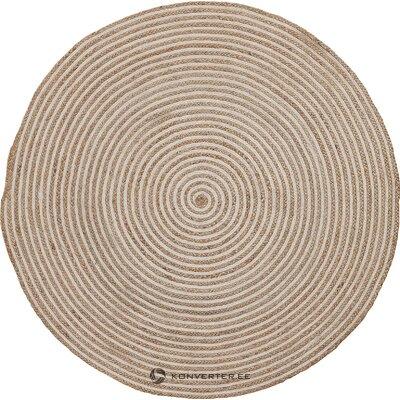 Round carpet (la shape) (whole, in a box)