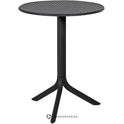 Antracīta apaļais galds (brafab)
