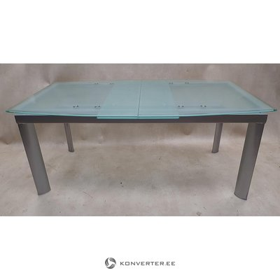 Glass expandable dining table (with beauty defects)