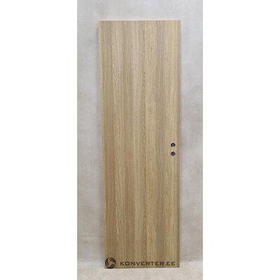 Interior door melamine 7x21 oak (with defects)