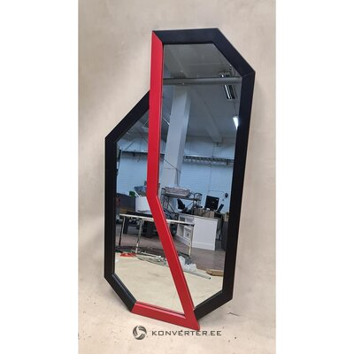 Melns un sarkans spogulis