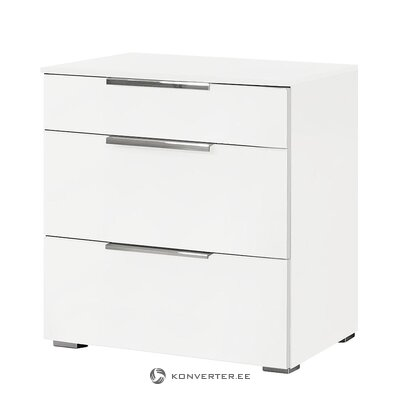 White bedside table (2oup)
